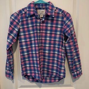 Youth button down shirt